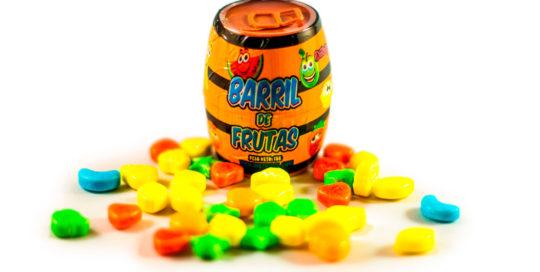 barril de frutas